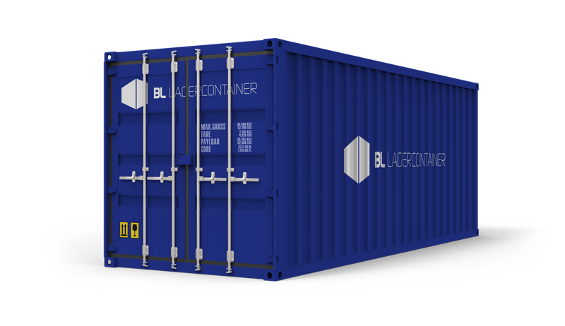 Byggeplass (Bedrift) - BL Lagercontainer