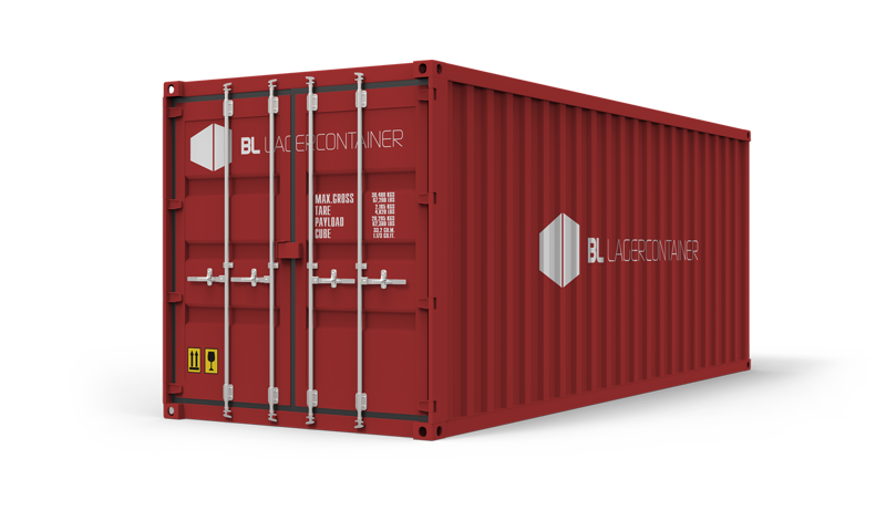 Flyttecontainer - BL Lagercontainer